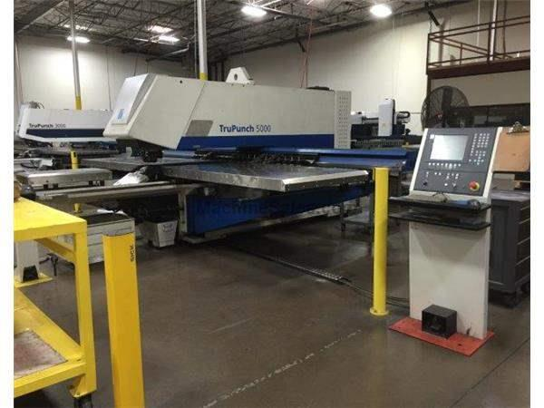 TRUMPF, TC5000/1600, CNC TURRET PUNCH NEW: 2007