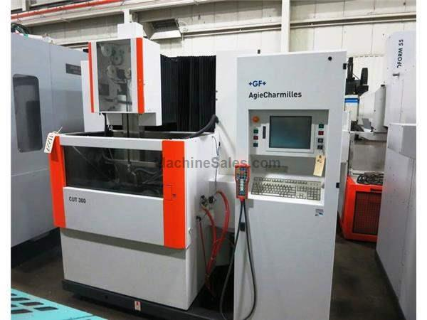 CHARMILLES ROBOFIL CUT300 5-AXIS CNC WIRE CUT (EDM) ELECTRICAL DISCHARGE