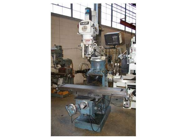 LAGUN #FTV-3 KNEE TYPE VERTICAL MILL