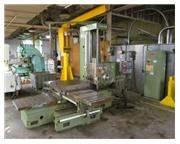 """Sacem MNU 105 4.13"""" Table Type Horizontal Boring Mill"""