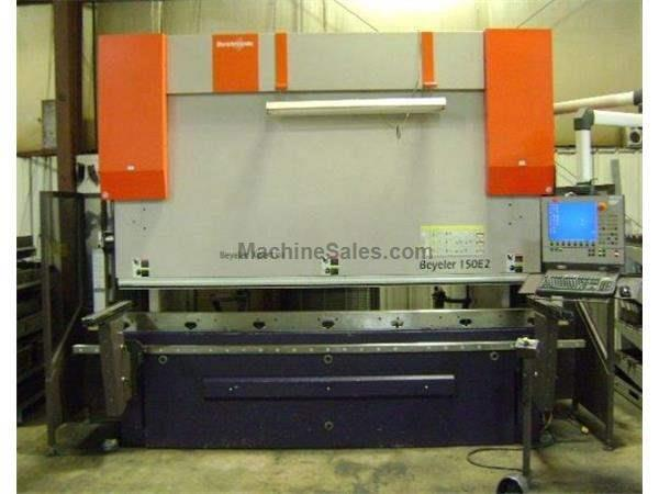 165 Ton Bystronic Xpert 8-Axis CNC Hydraulic Press Brake