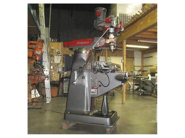 BRIDGEPORT SERIES I,5 HP MILLING MACHINE WITH A NEW DITRON DIGITAL READOUT