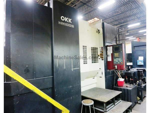 OKK MODEL HM100S CNC LARGE CAPACITY HORIZONTAL MACHINING CENTER