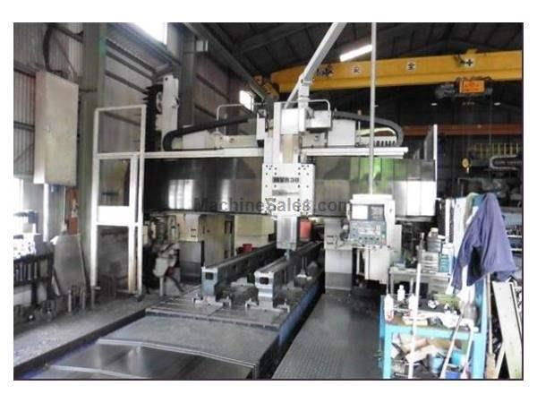 Mitsubishi MVR-30 5-Face Double Column Bridge Mill