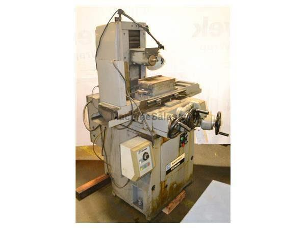 "6"" Width 12"" Length Brown & Sharpe 612 MASTER SURFACE GRINDER, Hitachi model HR-612 Mag Chuck"