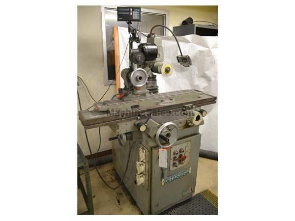 Cincinnati-Milacron No. 2 MT TOOL  CUTTER GRINDER, SONY 2 AXIS DRO, Roller Bearing table, Tilt Wheel