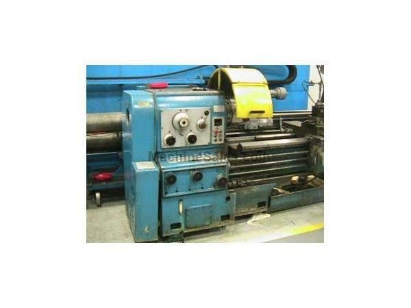 "24.5"" Swing 120"" Centers Dainichi DLG-SHB ENGINE LATHE, Inch/Metric,Gap,Steady,3-Jaw, Dorian,Rapid,15 HP,"