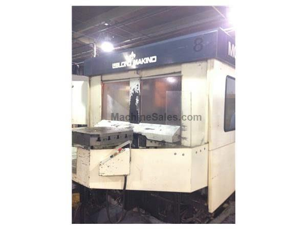 "31"" X Axis 25"" Y Axis Makino MC-86 HORZ MACHINING CENTER, Pro 3 CNC 4,000RPM"