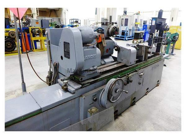 "18"" Swing 72"" Centers Landis 3R OD GRINDER, HYD. TABLE, AUTO INFEED, RAPID, 18"" WHEEL, COOLANT"