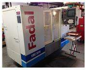 Used 2000 Fadal VMC 3016  Vertical Machining Center with 4th axis rotary