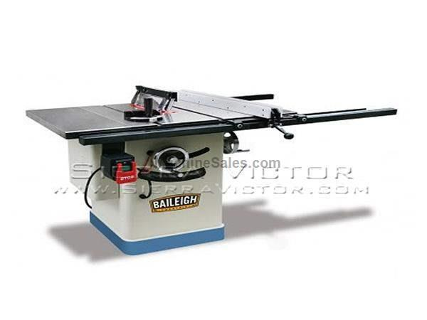 "10"" BAILEIGH® Entry Level Cabinet Saw with 30"" Extension"
