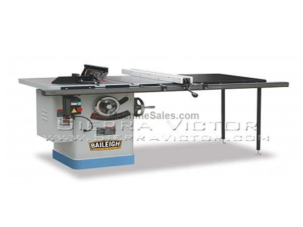 "10"" BAILEIGH® Riving Knife Table Saw with 50"" Extension"