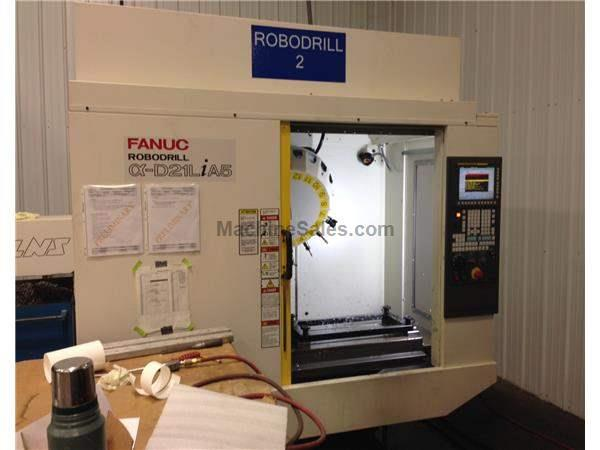 Fanuc Robodrill Alpha D21LiA5 Drill, Tap & Machining Center