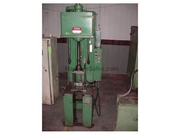 "Denison 8 Ton Hydraulic Press , 18"" Stroke, 34"" DLO"