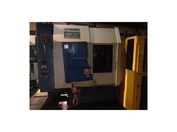 MODEL 300CG, GLEASON CNC CUTTER BLADE SHARPENING MACHINE 5 AXIS 15M FANUC
