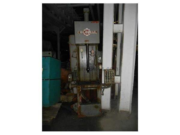 COLONIAL BROACH HYDRAULIC C FRAME PRESS