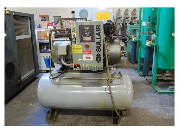 15 HP SULLAIR AIR ROTARY SCREW COMPRESSOR