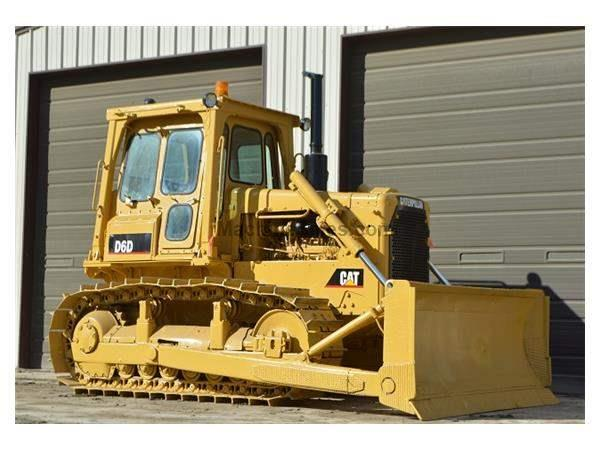 1979 CATERPILLAR D6D DOZER