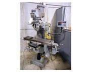 (2) 2 HP Bridgeport Series I Ram Type Vertical Mill