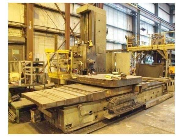 "Tos WHN-13 5.12"" Table Type Horizontal Boring Mill"