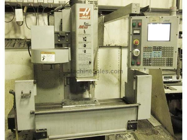 Haas VMC Toolroom Mill Model TM-1 Haas CNC Controls New 2005