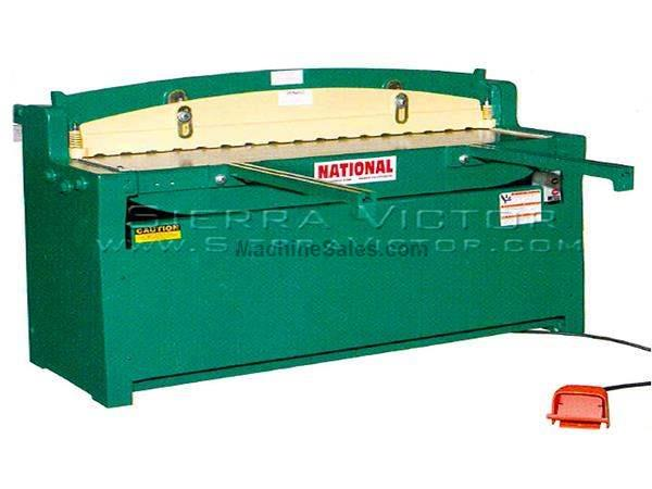"36"" - 52"" x 16 - 10 ga NATIONAL® Hydraulic Shears"