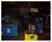 MILLER DELTAWELD 452 MIG WELDERS (10 AVAILABLE)