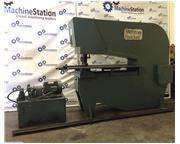 W.A Whitney 50-Ton Duplicator Hydraulic Punch Press