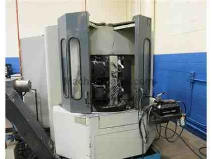 MAZAK MODEL HTC-400 CNC HORIZONTAL MACHINING CENTER