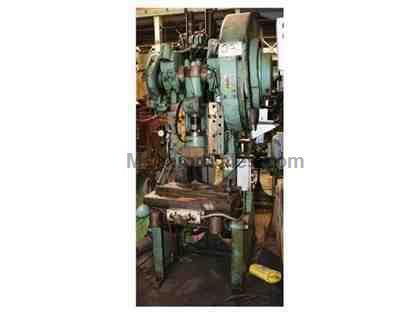 "35 Ton 3"" Stroke Bliss C-35 OBI PRESS, Air Clutch"
