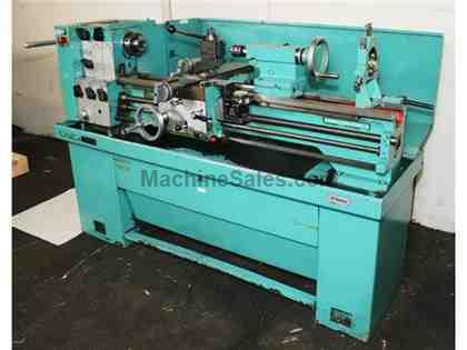 "13"" Swing 40"" Centers Harrison M300 ENGINE LATHE, Inh/Metric,Taper,4-Jaw,5C-Collet,Aloris,3HP"