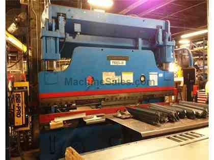 "135 Ton 120"" Bed Cincinnati Inc. 135-ASx8 PRESS BRAKE, Equipped with Updated Touch-Screen Control"