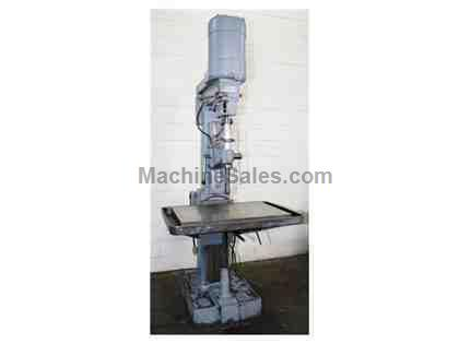 "30"" Swing 2HP Spindle Allen MA DRILL PRESS, Sliding Head, Adjustable Tbl,#3MT,Drill Chuck,2HP"