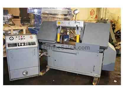 "20"" Width 15"" Height Marvel 15M HORIZONTAL BAND SAW, 1-1/4"" Blsde, 5 HP, Semi-Automatic,"