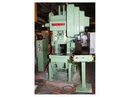"35 Ton 4"" Stroke Bliss C-35 OBI PRESS, Air Clutch"
