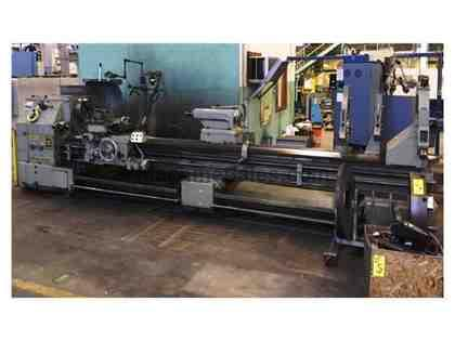 "31"" Swing 156"" Centers HES JUPITER 830 ENGINE LATHE, Inch/Metric,Gap,Trak DRO,3&4 Jaw,(3) Steady Rests"