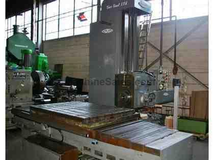 "4"" NOMURA B-100LP TABLE TYPE HORIZONTAL BORING MILL"