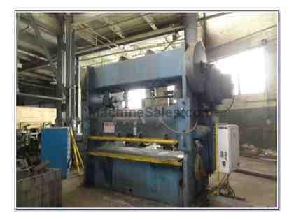 150 TON NIAGARA MODEL #PN150-72x36 GAP FRAME DOUBLE CRANK PRESS