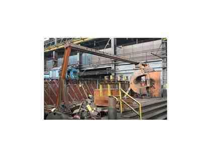 600 TON RODGERS HYDRAULIC INCLINED WHEEL PRESS