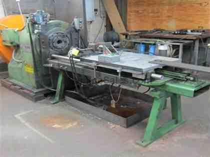 FENN 4 1/2F 2 DIE SWAGER w/HYDRAULIC FEED TABLE