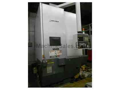Like New Okuma V60R CNC Vertical Lathe