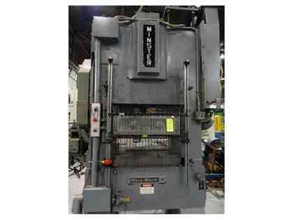 MINSTER PIECE MAKER PM2-60-36 STRAIGHT SIDE HIGH SPEED PRESS
