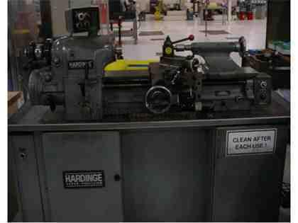 "No. HLV-H, Hardinge, 11"" x 18"", Inch Threading,5C Collet System,Tooling,1986"