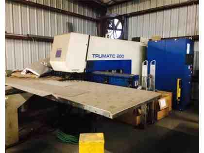TRUMPF, TC200R, CNC TURRET PUNCH NEW: 1998
