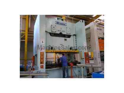 350 Ton, SIMPAC MC2-350 SOLID FRAME DOUBLE CRANK MECHANICAL PRESS,INSTAKKED