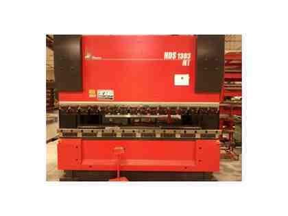 143 Ton, AMADA, HDS-1303NT, AMNC-PC 8-AXIS, MFG:2003