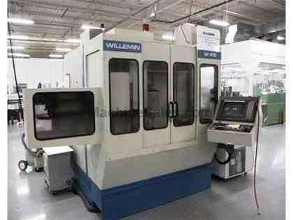 WILLEMIN, W-418 B, CNC VERTICAL MACHINING CENTER NEW: 1998
