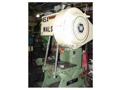 "45 Ton 3"" Stroke Walsh 45X OBI PRESS, Extended Shut Height - Variable Speed"