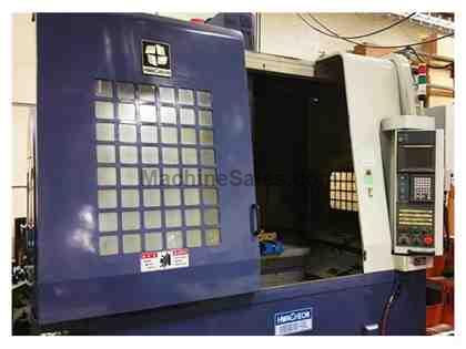 "40"" X Axis 24"" Y Axis Hwacheon SIRIUS UL VERTICAL MACHINING CENTER, Fanuc  18iMB, 12,000 RPM, CAT40"