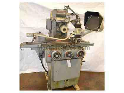 "6"" Width 18"" Length Brown & Sharpe 618 Micromaster SURFACE GRINDER, optidress & opti-visual grind comparator"